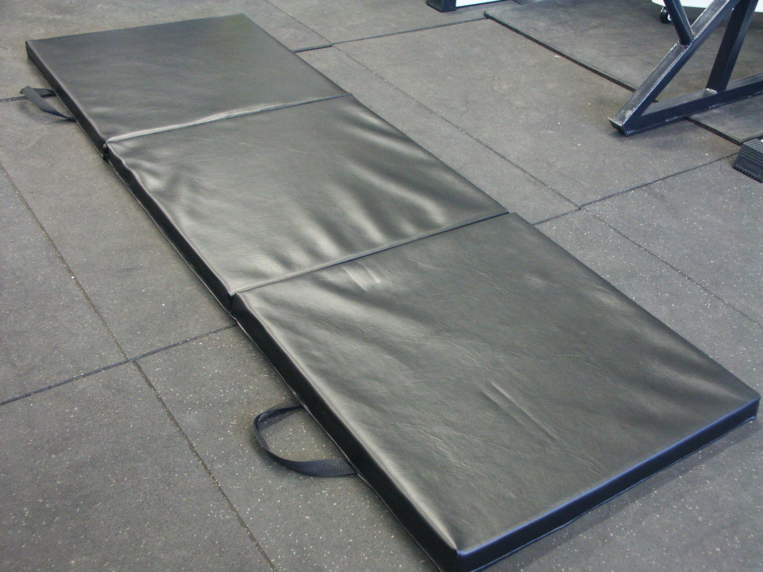 Unfolded Exercise mat