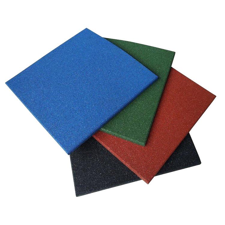 Gym Color Rubber Tile