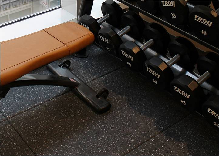 Gym Weight Rubber Tile