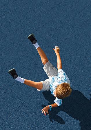 Rubber Playground Safety Flooring