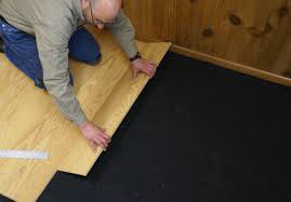 Rubber Underlayment Tiles
